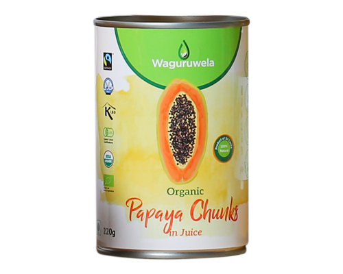 Tropical Fruits Products: Papaya Pieces
